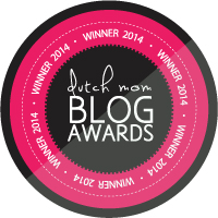 WINNER 2014 Dutch Mom Blog Awards