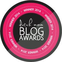 WINNER 2014 Dutch Mom Blog Awards