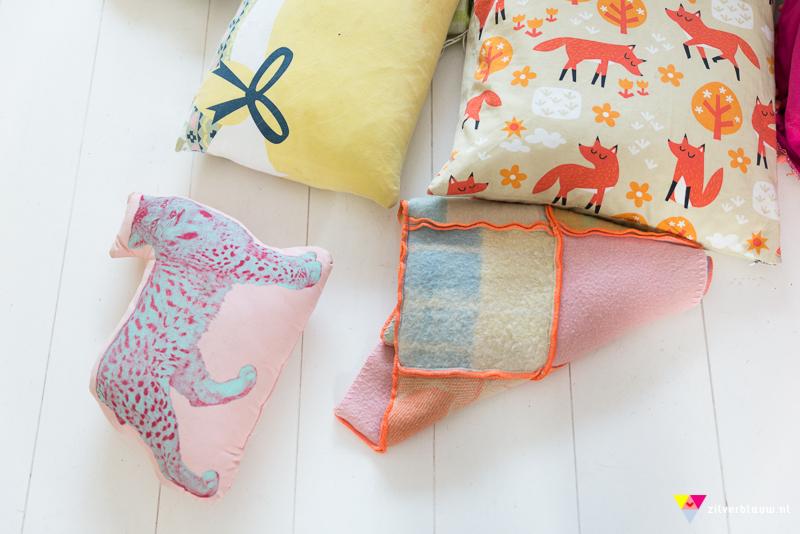 Kussen + dekens
