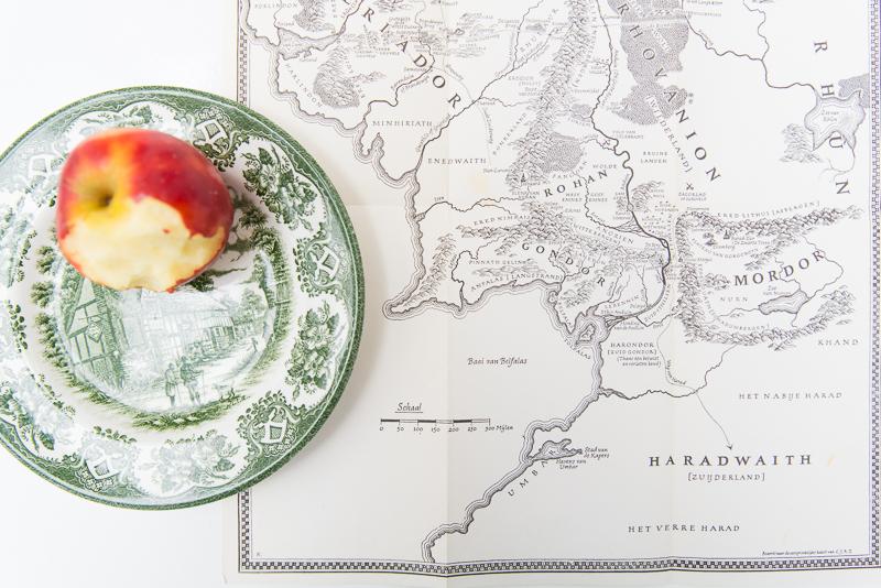 kaart uit de hobbit