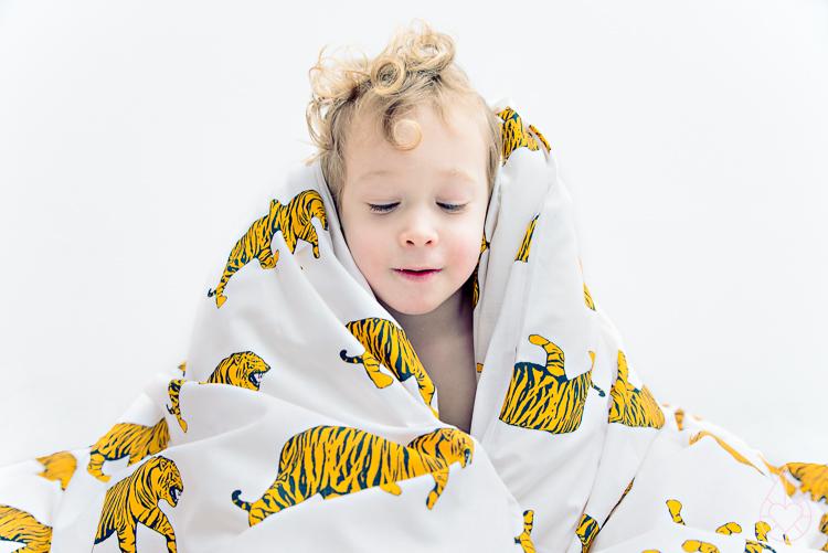 Tiger bedding H&M