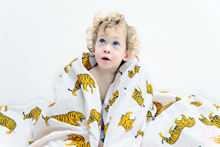 tijger beddengoed H&M