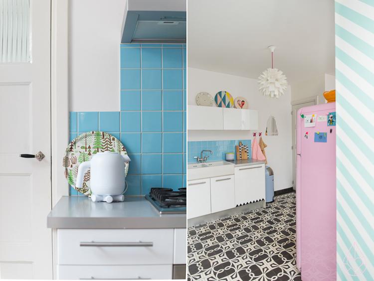 kitchen Zilverblauw