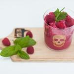 healthy raspberry ice cream
