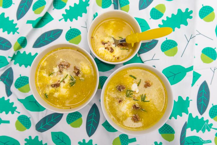 zilverblauw soep