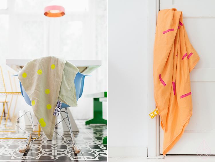DIY linen scarf - zilverblauw.nl