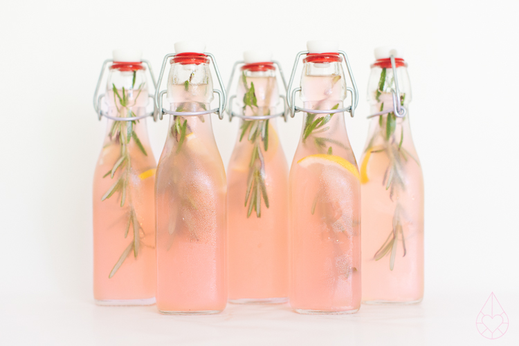 Recept roze limonade, by Zilverblauw.nl