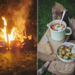 Cooking on a campfire II