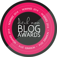 Nominee 2014 Dutch Mom Blog Awards