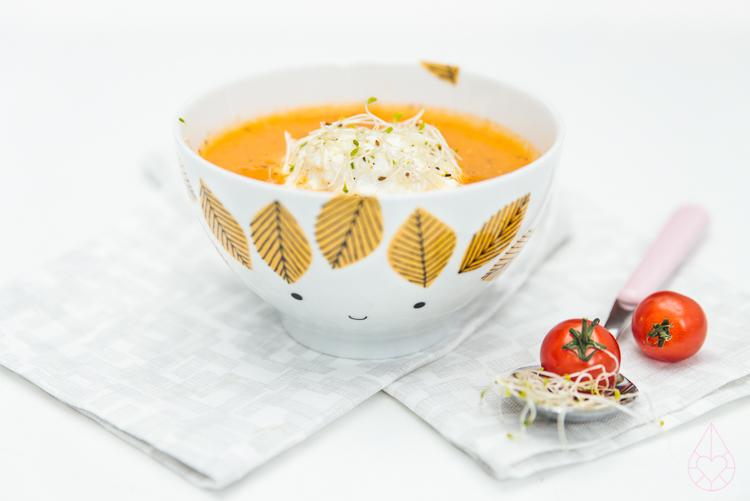 verse tomatensoep, door Zilverblauw.nl