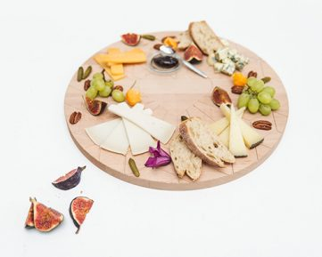Zilverblauw Cheese board