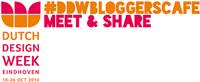 DDW Bloggerscafé Zilverblauw
