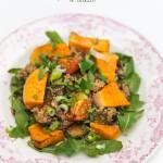 Herfstrecept: Quinoa met pompoen en munt