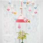 Kerst DIY I: paper crystals