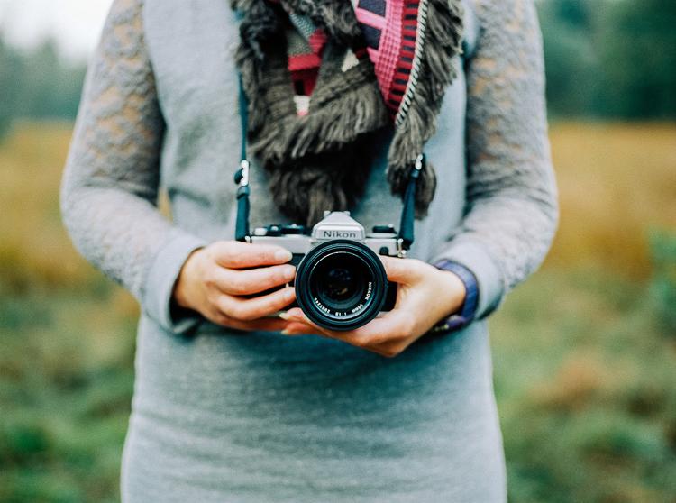 Nikon FM3A - Zilverblauw