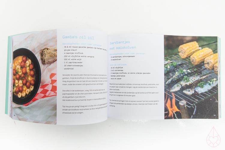 Caravanity camping kookboek, by zilverblauw.nl