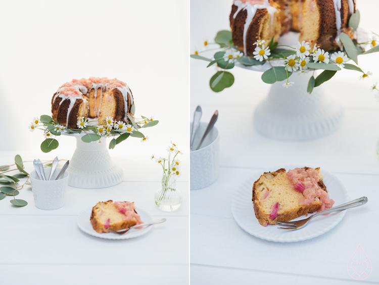 rabarbercake, by zilverblauw.nl