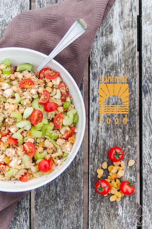 quinoa-salade, by zilverblauw.nl