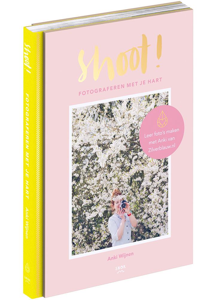 Shoot! Fotograferen met je hart – Anki Wijnen, Zilverblauw