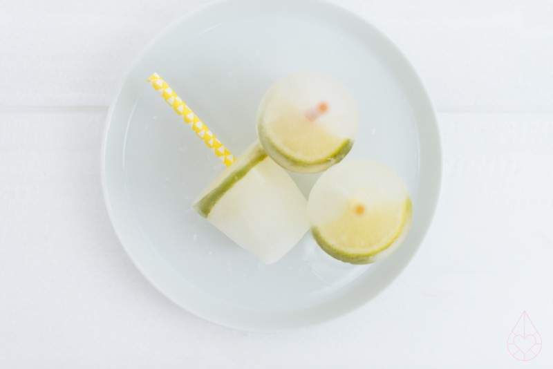 limon elderflower popsicles, by zilverblauw.nl