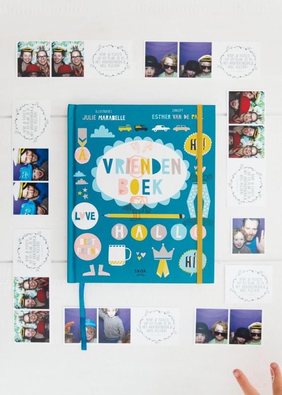 Vriendenboek, by zilverblauw.nl