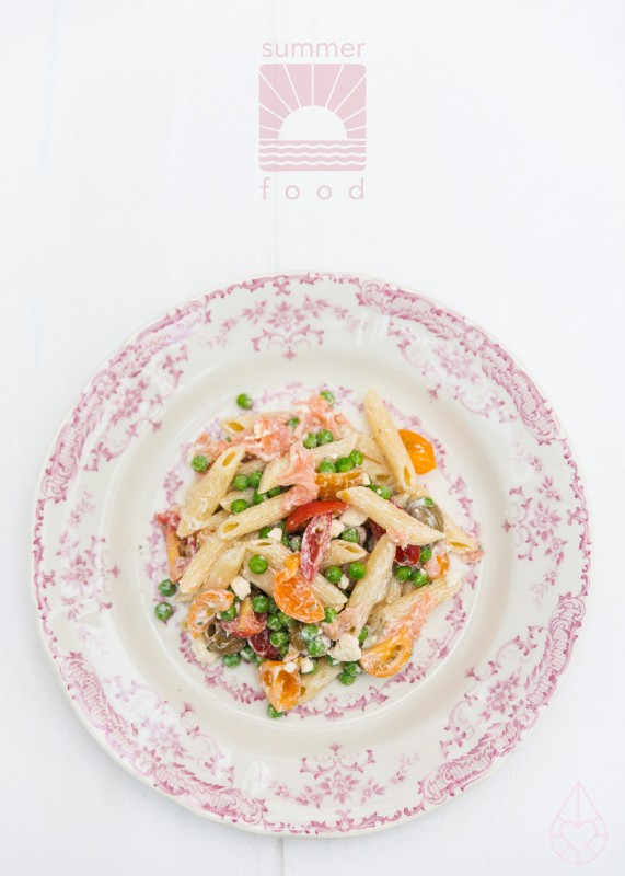 zomerse pastasalade, by zilverblauw.nl