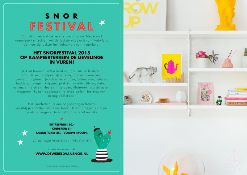 Shoot! het boek & Snorfestival