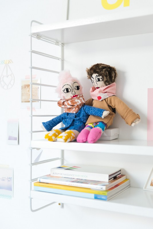 DIY personalized doll, by zilverblauw.nl