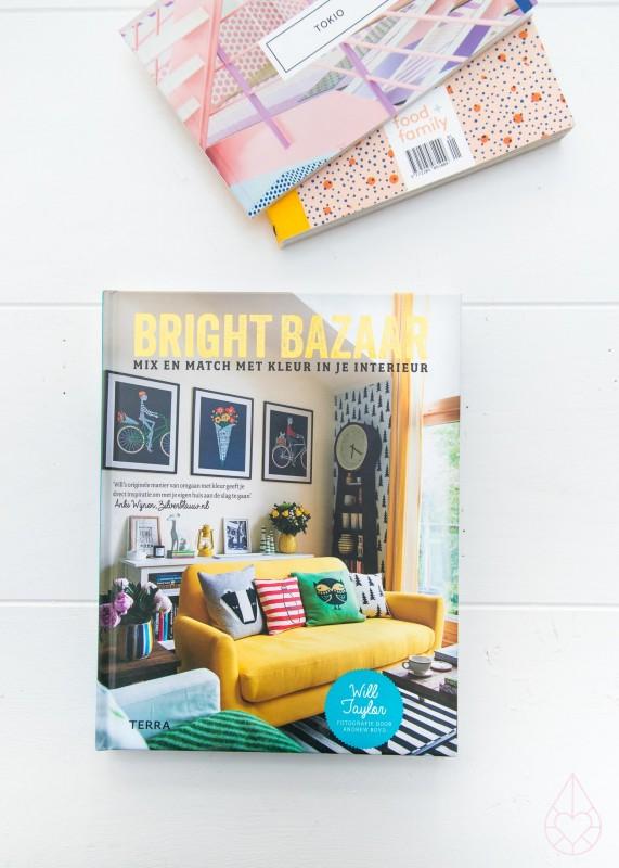 Bright Bazaar boek, by zilverblauw.nl