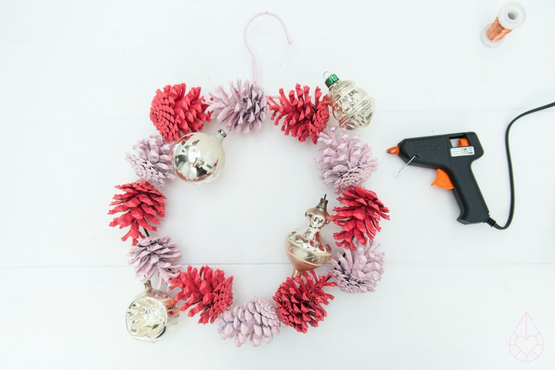 DIY kerstkrans, by zilverblauw.nl