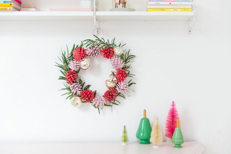 hoe maak je een kerstkrans