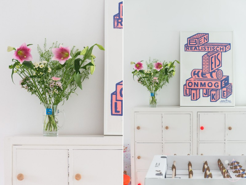 Studio Boot poster, by zilverblauw.nl