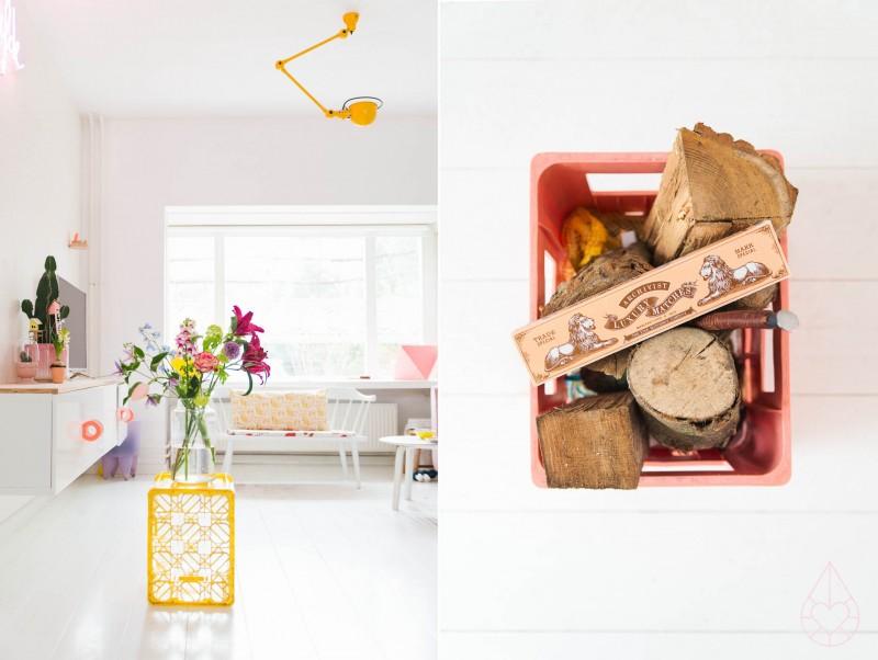 using crates in your interior, zilverblauw.nl