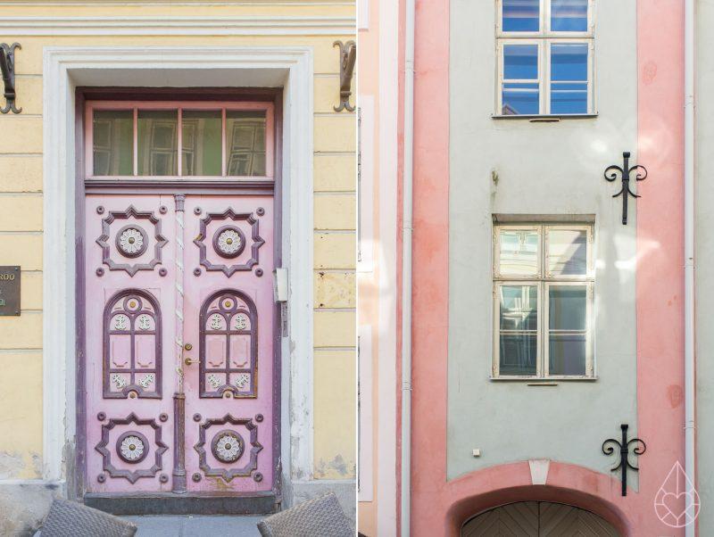Tallinn pastels, by zilverblauw.nl