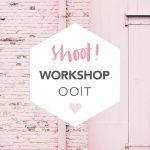 Nieuw: workshop fotografie 'Ooit'