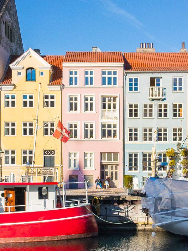 Nyhavn Kopenhagen zilverblauw.nl