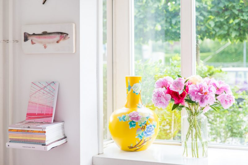 pioenroos - mooi wat bloemen doen