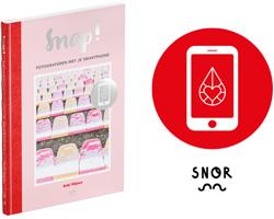 Snap! Fotograferen met je Smartphone. Boek van Anki Wijnen, Zilverblauw.nl