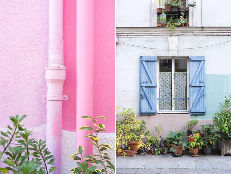 Rue Crémieux Zilverblauw