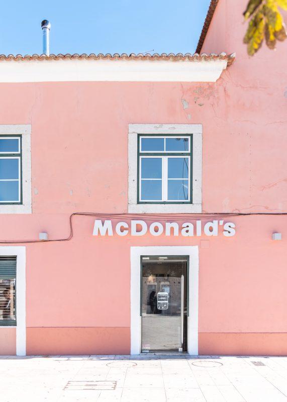 Pink McDonalds, by zilverblauw.nl