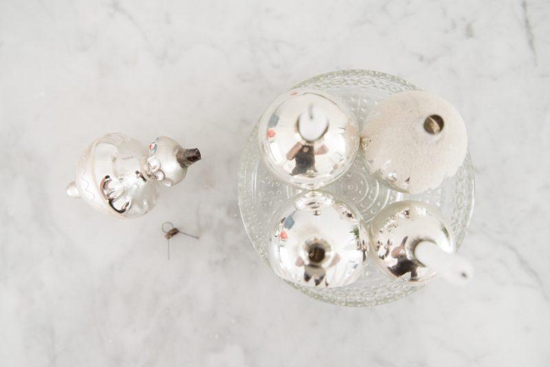 DIY oude kerstballen