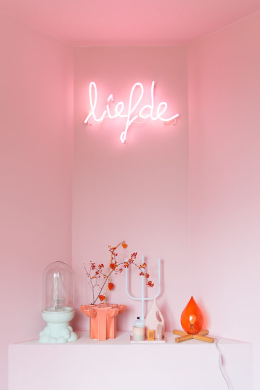 Liefde neon