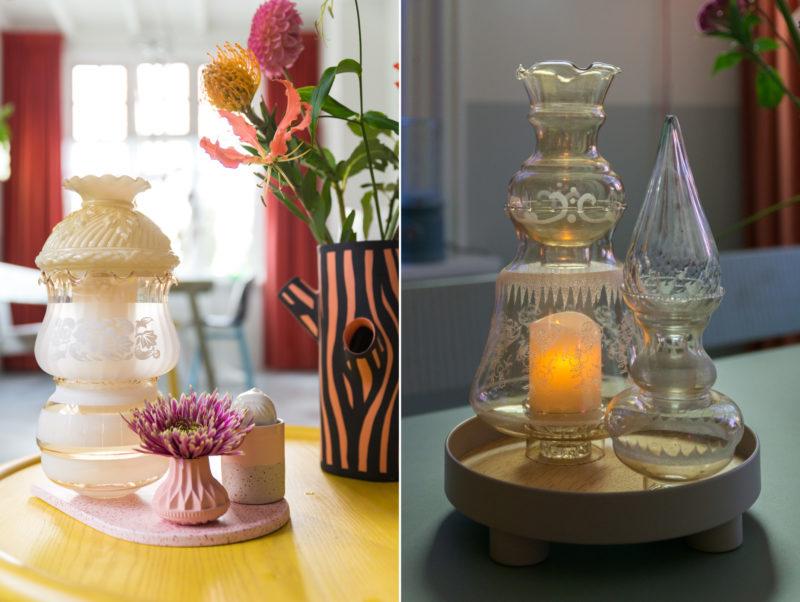 antieke lampenkapjes