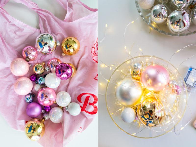 vintage kerstballen DIY