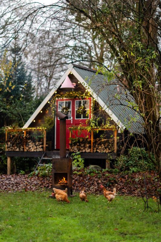 zelfgebouwd tuinhuis